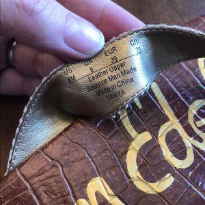 Sam Edelman Shoes - Sam Edelman Tanya Tan Cork Sandals Sz 8
